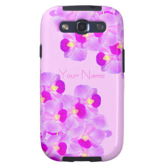 Pink Orchid Bouquet Samsung Galaxy SIII Covers
