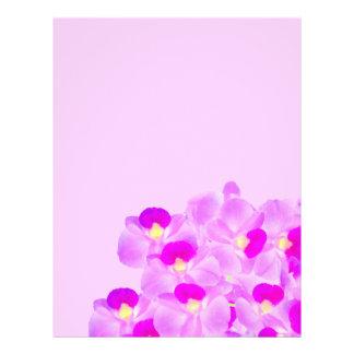 Pink Orchid Bouquet Flyer