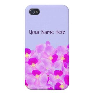 Pink Orchid Bouquet iPhone 4 Case
