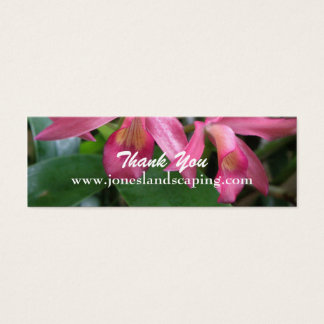 Pink Orchid Business Cards