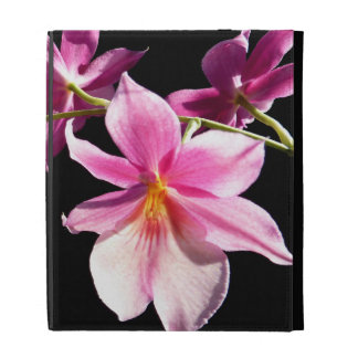 Pink Orchid. iPad Folio Cover