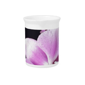 Pink orchid drink pitcher