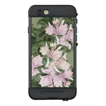 Pink Orchid Flowers Palm Fronds iPhone LifeProof