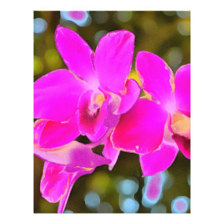 Pink Orchid Flyer
