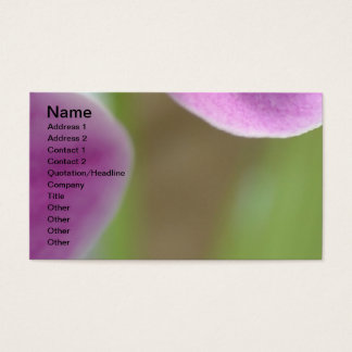 Pink Orchid I Business Card