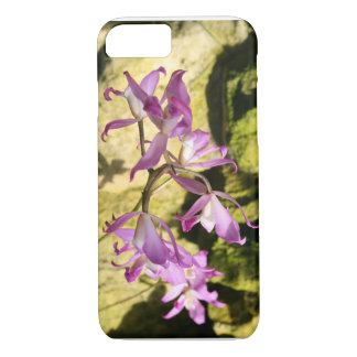 pink orchid iPhone 7 case