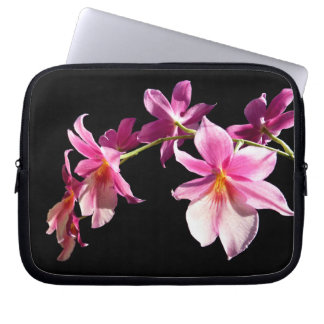 Pink Orchid. Computer Sleeve