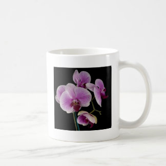 pink orchid coffee mugs