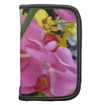 Pink Orchid Rickshaw Folio Organizer