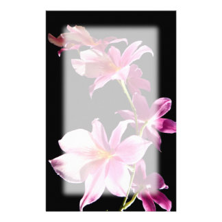 Pink Orchid. Stationery