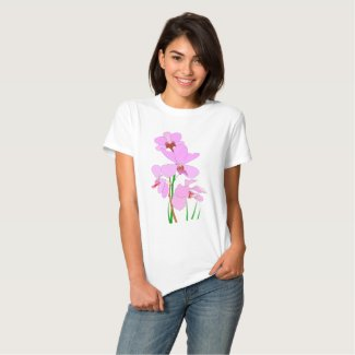 Pink Orchid T Shirt