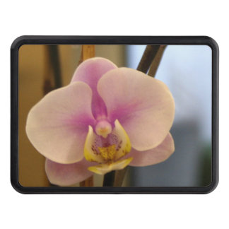 Pink Orchid Tow Hitch Cover