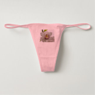 Pink Orchid Women's Thong