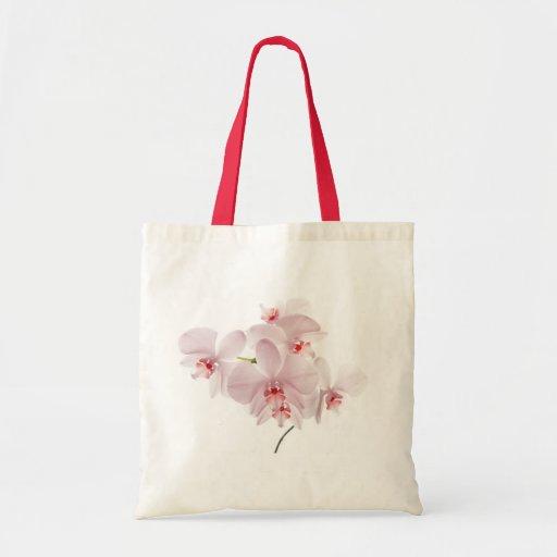 Pink orchids bag