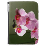 Pink Orchids Case For The Kindle