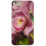 Pink Orchids Impasto Barely There iPhone 6 Plus Case