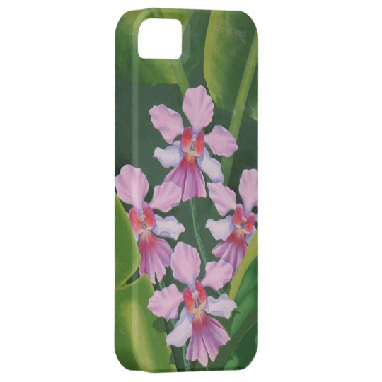 Pink Orchids iPhone Case