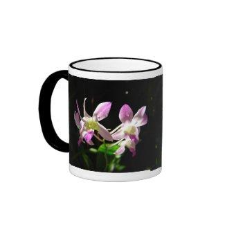 Pink Orchids Mug