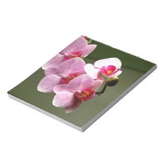Pink Orchids Note Pads