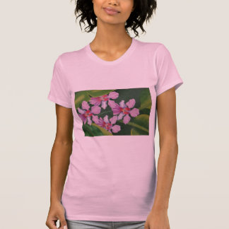 Pink Orchids Tee Shirt
