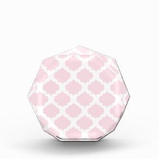 Pink Ornate Pattern Award