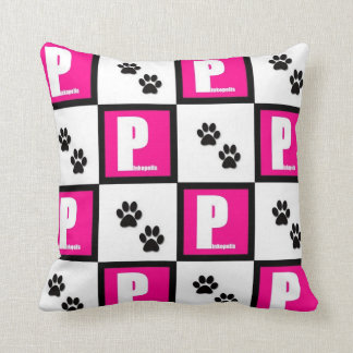 Pink out your couch! pillows