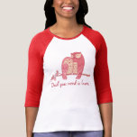 Pink Owl Couple with Pun Tees