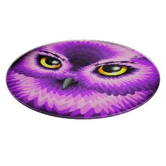Pink Owl Eyes Cutting_Boards Cutting Board