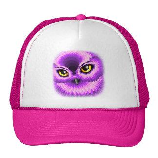 Pink Owl Eyes Trucker Hat