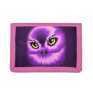 Pink Owl Eyes Wallet