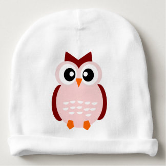 Pink Owl Hat