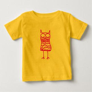 Pink Owl Infant Tee Shirt