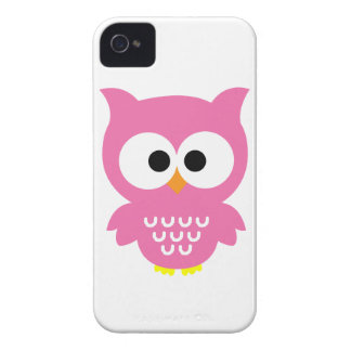 Pink Owl iPhone 4 Case
