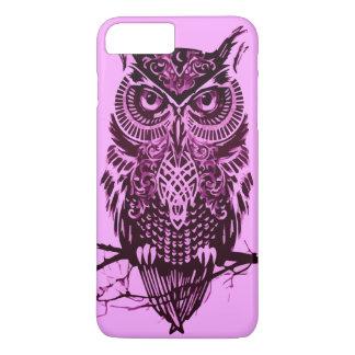 Pink Owl iPhone 8 Plus/7 Plus Case
