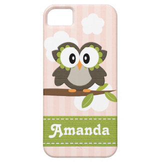 Pink Owl iPhone SE/5/5s Case