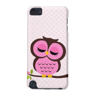 Pink Owl iPod Touch (5th Generation) Cover