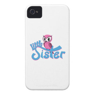 Pink Owl Little Sister iPhone 4 Case