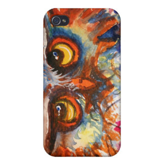 Pink Owl Phone Case iPhone 4/4S Case