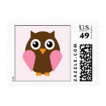 Pink Owl Postage