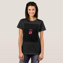 Pink Owl Women's Basic T-Shirt