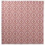 Pink Owls on Polka Dots Printed Napkins