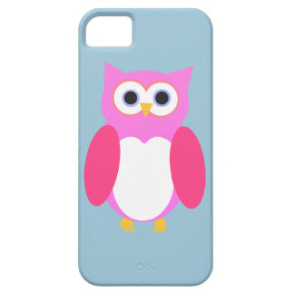 Pink Owly iPhone 5 Case