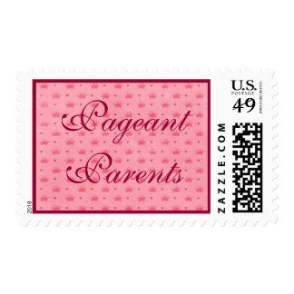 Pink Pageant Parent Postage