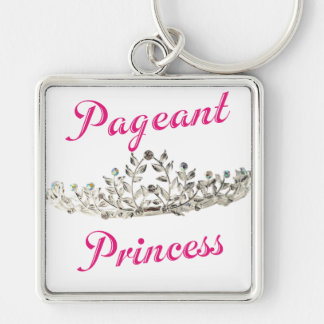 Pink Pageant Princess Keychain