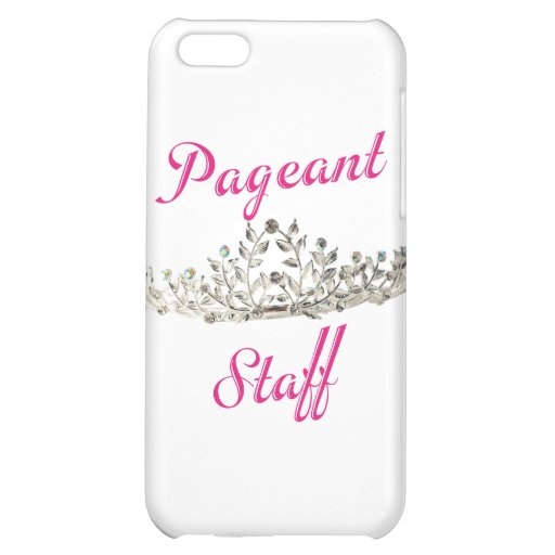 Pink Pageant Staff iPhone 5C Covers