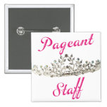 Pink Pageant Staff Pin