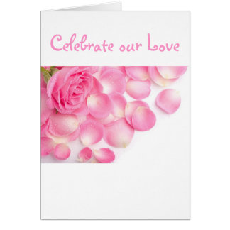 Pink Pageantry-Invitation Card