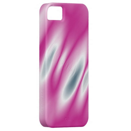 Pink paint graphic art iPhone SE/5/5s case