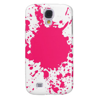 Pink Paint Splatter Splash iPhone 3 case