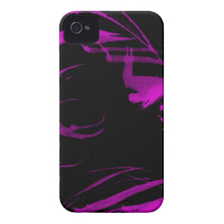pink paint trails iPhone 4 Case-Mate case